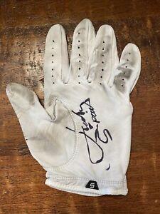 Jordan Spieth Signed Tournament Used Golf Glove Psa Dna Coa PGA Autographed