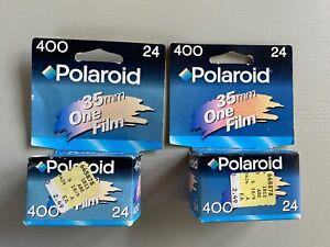 2 Boxes of Polaroid ISO 400 Film Expired 35mm One Film