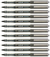 Uniball Vision Pen Micro Point 0.5mm Black Uni Super Ink Acid Free Archival 12pk