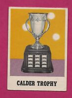 1970-71 OPC  # 258 CALDER  TROPHY GOOD CARD (TONY ESPOSITO ) (INV# A2111)