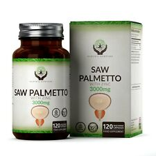 Saw Palmetto (3000mg) 20:1 Extract With Zinc | Supports Prostate Health