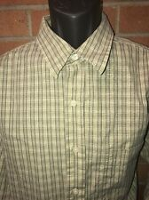 Eddie Bauer Brand Classic Fit. Men's L Tall. Green Long sleeve Button Up. EUC