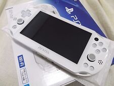 PlayStation Vita Wi-Fi Console System PCH-2000 White PS Vita