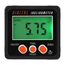 Angle meter, Precision Digital Protractor Inclinometer Level box, Digital A O9W5
