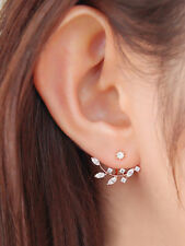 Chandelier Color Fashion Girl Earing Earring Rhinestone Crystal Stud Gold Plated