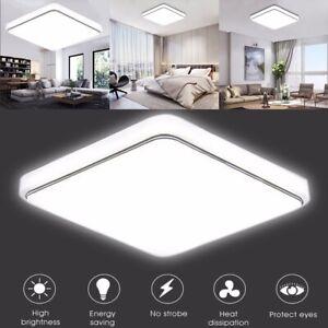 24W plafonnier carré LED plafonnent lumière affleurent lampe luminaire à maison