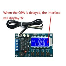 10A Digital Thermostat Temperature Controller Regulator Heating Cooling Control