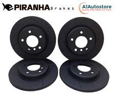 Seat Altea XL 2.0TDi 170bhp 07-10 Piranha Front Rear Brake Discs
