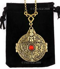 The Mortal Instruments PORTAL Door NECKLACE GOLD Pendant SHADOWHUNTER CLARY