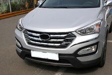 Accesorio para Hyundai Santa Fe 2012-2014 Parrilla Listones Parabrisas Tuning