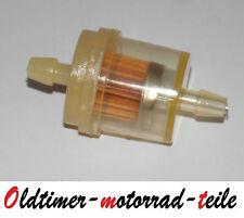 Benzinhahn Benzinfilter 6mm. MZ IFA Simson Jawa DKW Pannonia EMW Roller Mokick