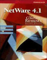 Novell Netware 4.1: The Complete Reference by Sheldon, Thomas Paperback Book The