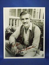 Dennis Weaver Autographed Personalized Portrait Photo
