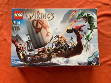 LEGO 7018 - Vikings Viking Ship challenges the Midgard Serpent -100% complete