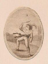 Badminton - Federball. – Tennis -  Battledore Shuttlecock - Jeu de Volant  1760