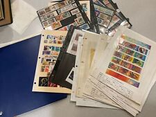 Large Russia Stamp Collection  BLOCKS FULL SHEETS All pictured