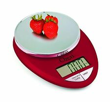Ozeri ZK12-R Pro Digital Kitchen Food Scale 1g/12 lb Red Engine Free Shipping