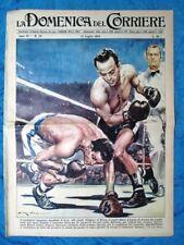 La Domenica del Corriere 15 luglio 1956 M.d'Agata,R.Cohen - Somalia - Cavalieri