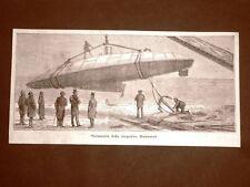 Il varo della torpedine Herreshoff nel 1879 + Cannoni Pallisen in U.S.A.