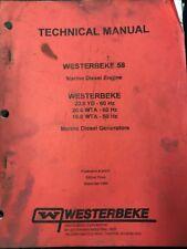Westerbeke Technical Manual