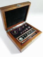 Restored Complete Antique Laboratory/Apothecary Metric Weight Set