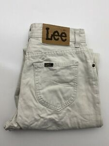 Vintage Lee Mens Denim Jeans Size 30 x 29 Straight Leg Relaxed Fit Virginia