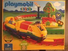 Playmobil Train 6915 Motor Battery Bridge And Lots Extras Box Manual