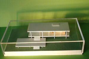 Mies van der Rohe FARNSWORTH 1:200 miniature ARCHITECTURAL MODEL Plano Illinois