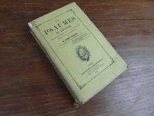 Abbé PICHENOT / LES PSAUMES DU DIMANCHE Instructions sur les vepres BRAY 1868