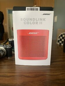 IOB Bose SoundLink Color Bluetooth Speaker II - Coral Red **NEW**