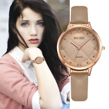 Womens Fashion Watches Ladies Faux Diamond Stainless Steel Case Wrist Watch Sale