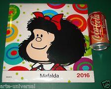 CALENDARIO DE PARED MAFALDA 2016 SPANISH ESPAÑOL WALL CALENDAR COLLECTION ITEM