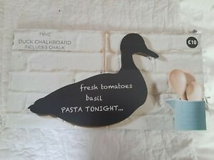 Next duck chalk board/message board cute duck shape , shabby chic/country style