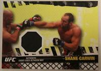 2010 Topps UFC #FM-SC Shane Carwin Fight Mat Relic EX