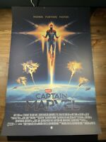 """Captain Marvel"" Art Print Movie Poster By Matt Ferguson XX/200 Mondo BNG GMA"