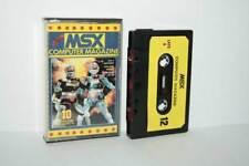 Msx Computer Magazine n.12 Commodore Datasette 10 progrmammi Italian Edition fr1 56413