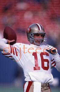 1986 Joe Montana SAN FRANCISCO 49ERS - 35mm Football Slide
