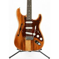 Fender CS Artisan Stratocaster Thinline Roasted Ash Bd Flame Koa Tp 194744102 OB