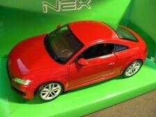 1/24 Welly Audi TT coupé 2014 rouge