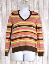 Old Navy Womens Maternity Long Sleeve Top Multi Color Lambs Wool Size Small