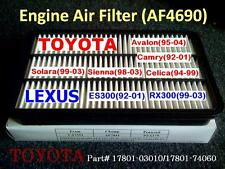 For Toyota Lexus Quality Air Filter AF4690 CA7351 Avalon Camry Celica ES300..^o^