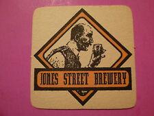 Beer Collectible Coaster: JONES STREET Brewery ~ Omaha, NEBRASKA; CLOSED Brewery
