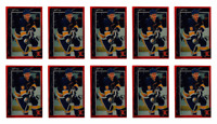 (10) 1992 Legends #31 Brett Hull Hockey Card Lot St. Louis Blues