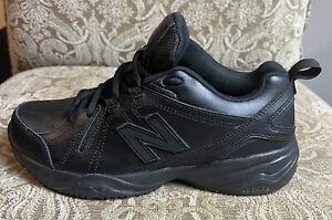 NEW BALANCE MX608V4B 608 Mens  Black Cross Trainers Sneaker Shoes Sz 8.5 D