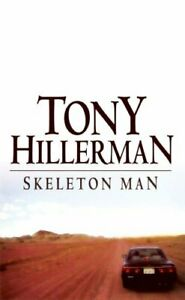 SKELETON MAN by Tony Hillerman Hardback Book The Cheap Fast Free Post