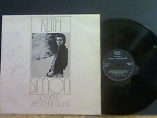 Keith Simon tan cerca pero tan lejos Lp Firmado/dedicado Hermosa Copia!!!