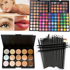 180 Farben Eyeshadow Party Palette Makeup Lidschatten Abdeckcreme Concealer 20Pcs Pinsel Set