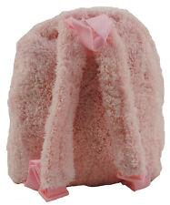 Children's Plush Back Pack Stuffed Animal Removable PINK Ballet Teddy Bear