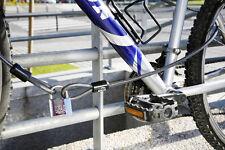 2 metros cable de seguridad de doble lazo. 10mm Diámetro. Plus IFAM MAR40 Candado marinos.