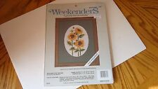 """New listing Weekenders Stitchery """"Reaching for the Sun"""" Kit Factory Sealed 5"""" X 7"""""""